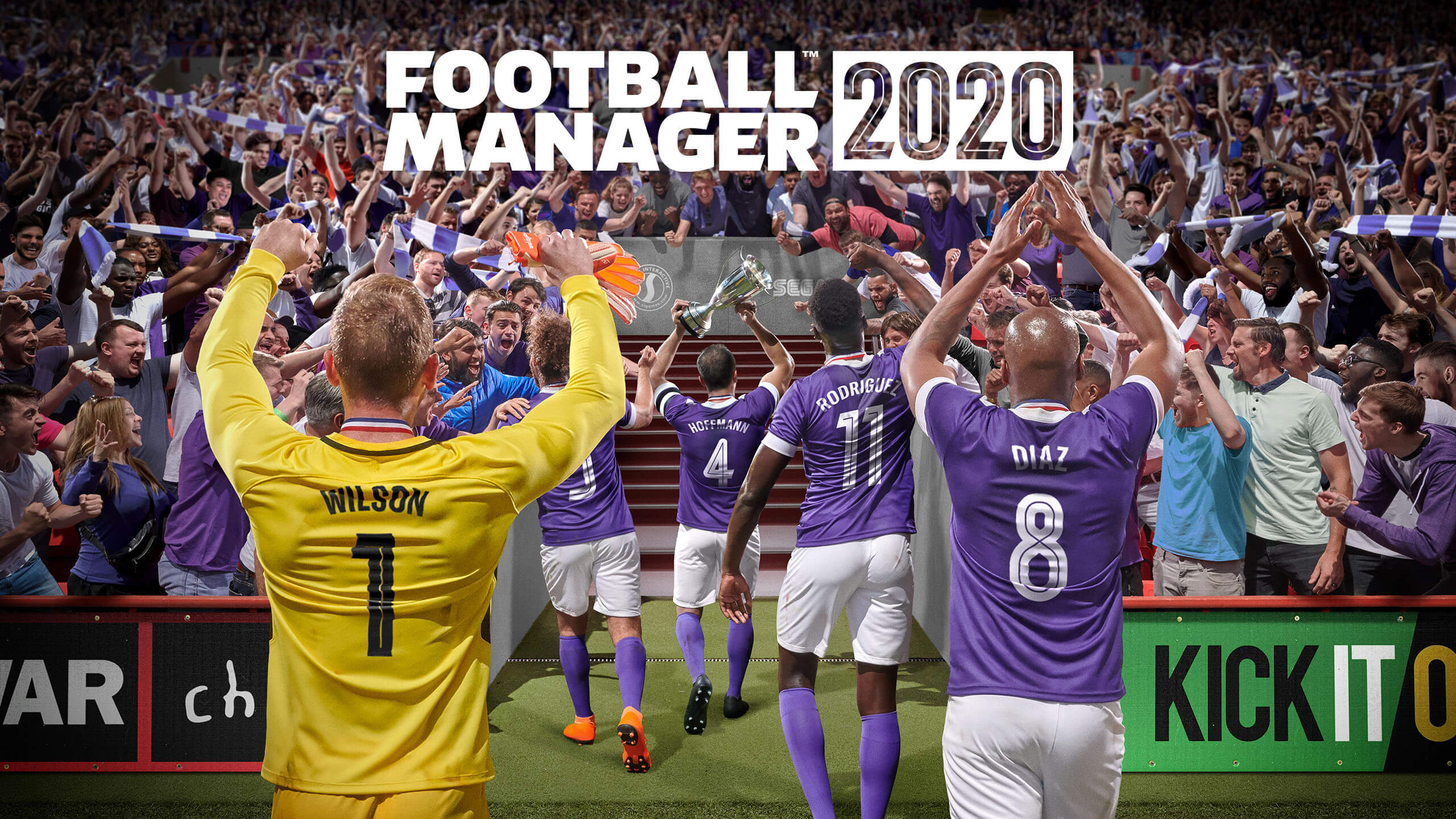 Football manager 2020 poster