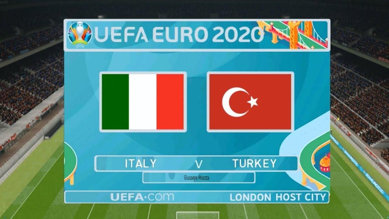 Pronosticuri Euro 2020 Italia Turcia